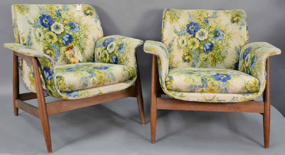 Pair of Mid-Century lounge chairs, George Mulhauser for