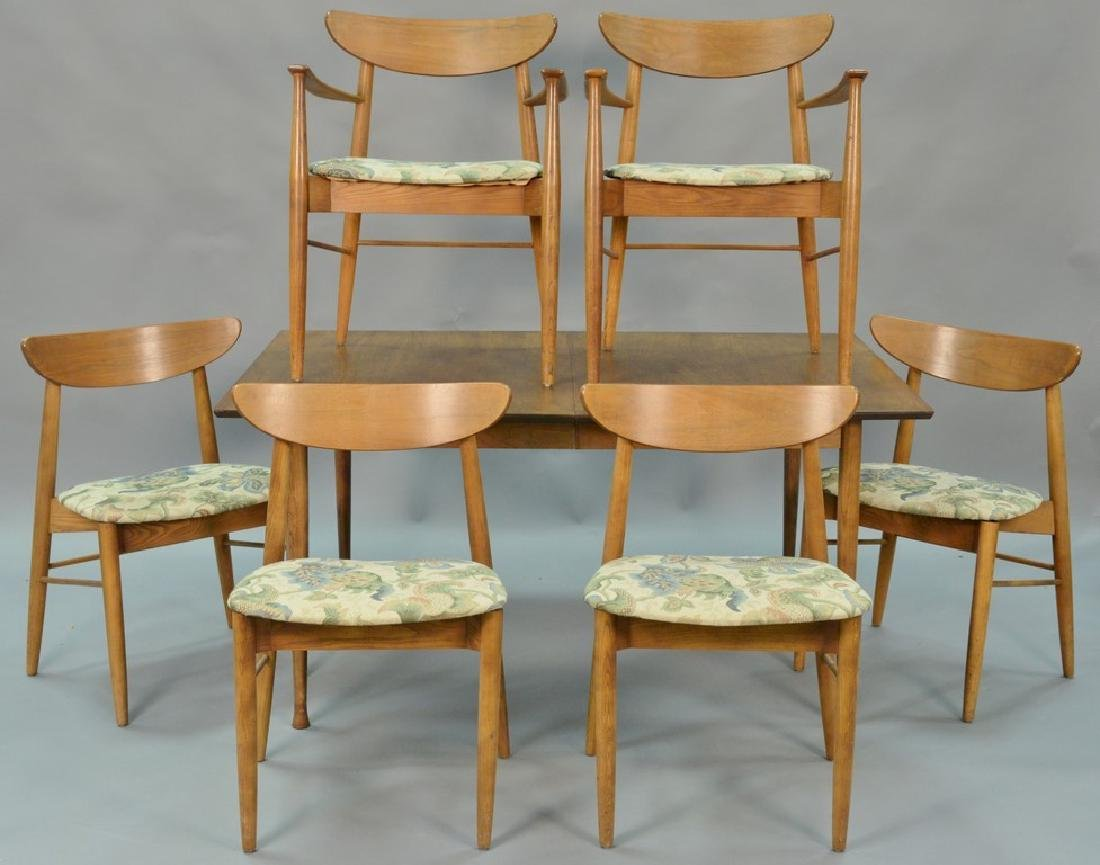 Stanley table and chair set, Finn Juhl style chairs and