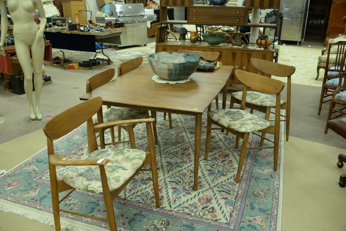 Stanley table and chair set, Finn Juhl style chairs and - 2