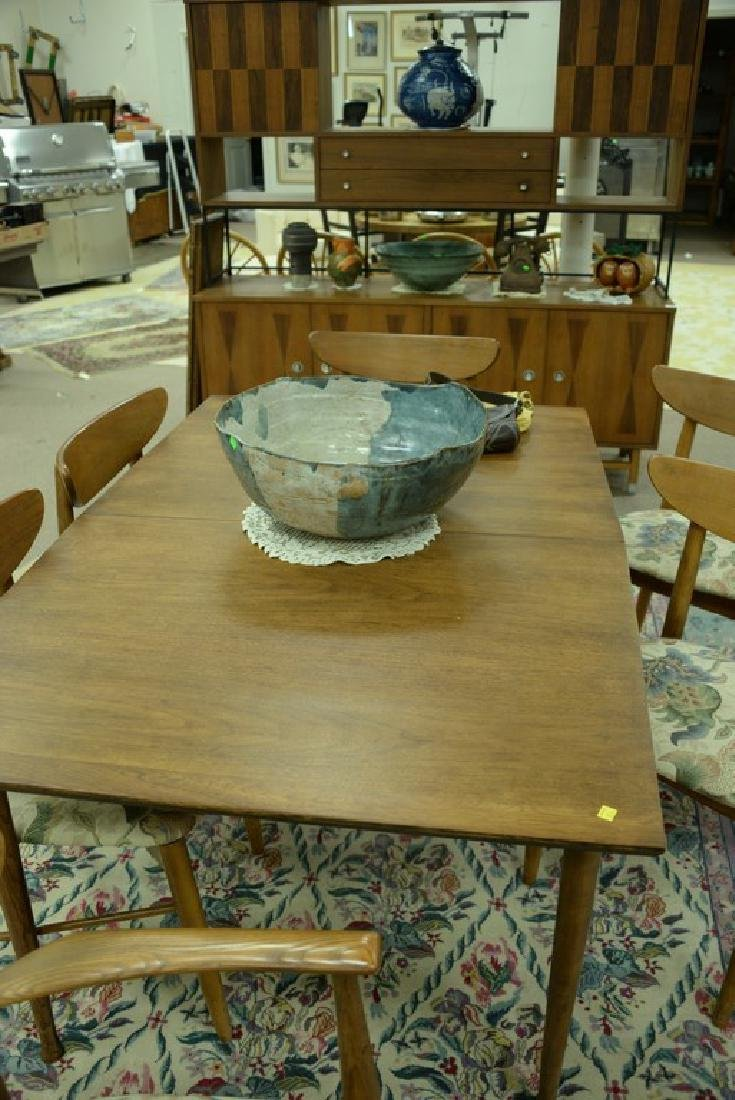 Stanley table and chair set, Finn Juhl style chairs and - 5