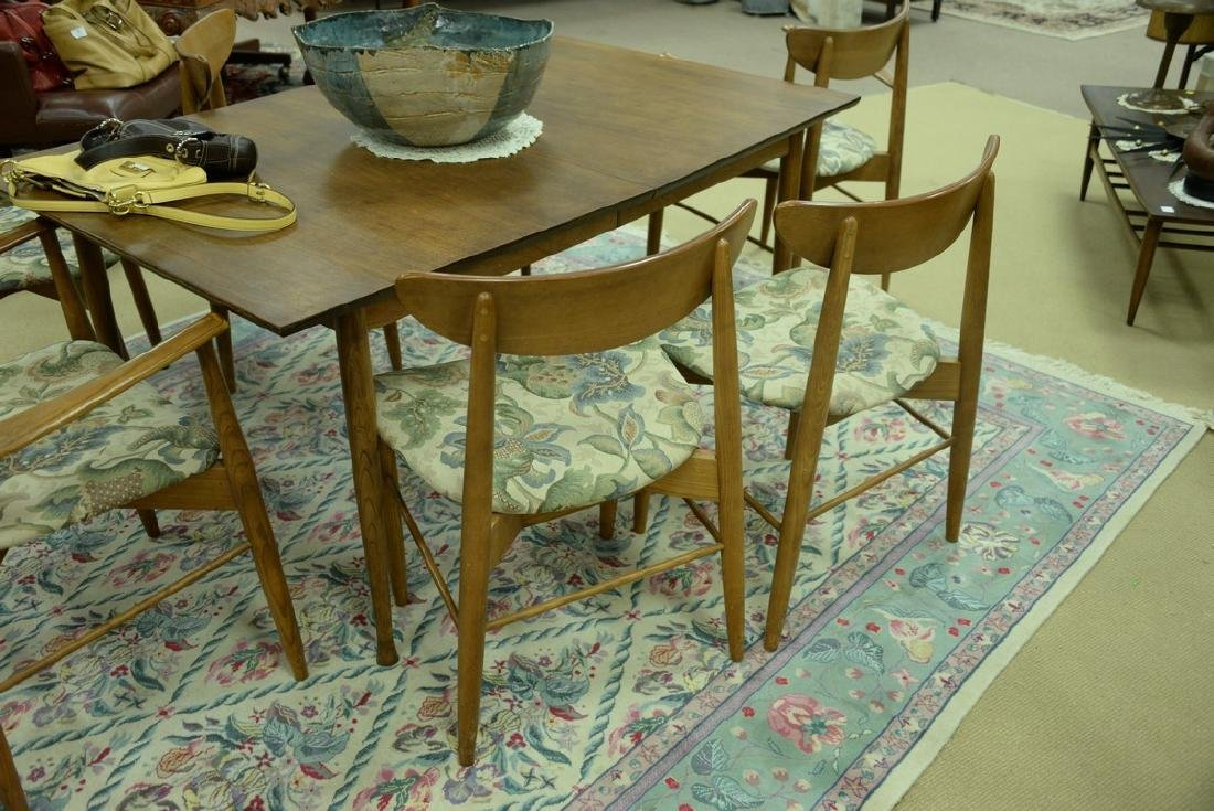 Stanley table and chair set, Finn Juhl style chairs and - 7