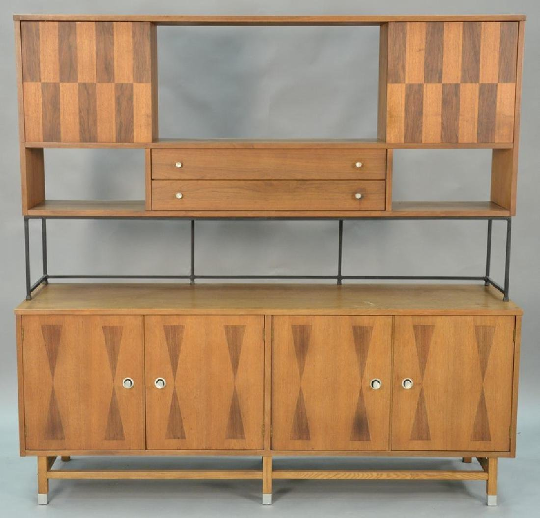 Danish style sideboard by Stanley with patterned