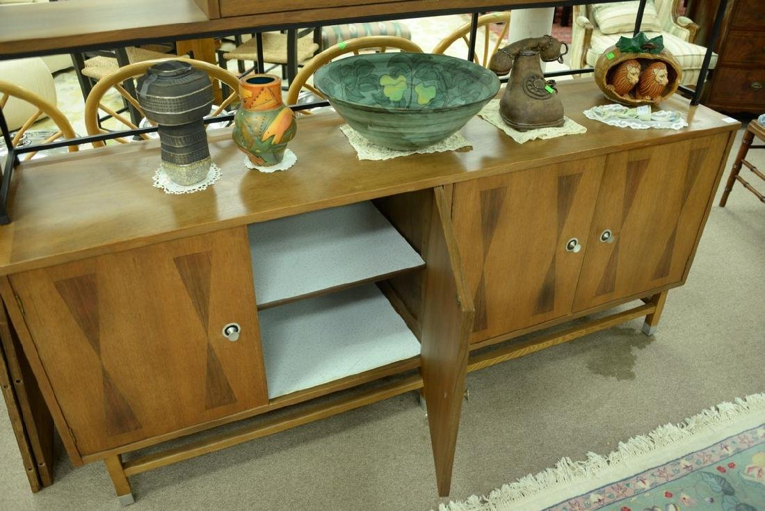 Danish style sideboard by Stanley with patterned - 7