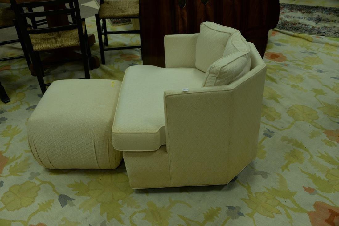 Pair of Harvey Probber style Mid-Century swivel chairs - 3