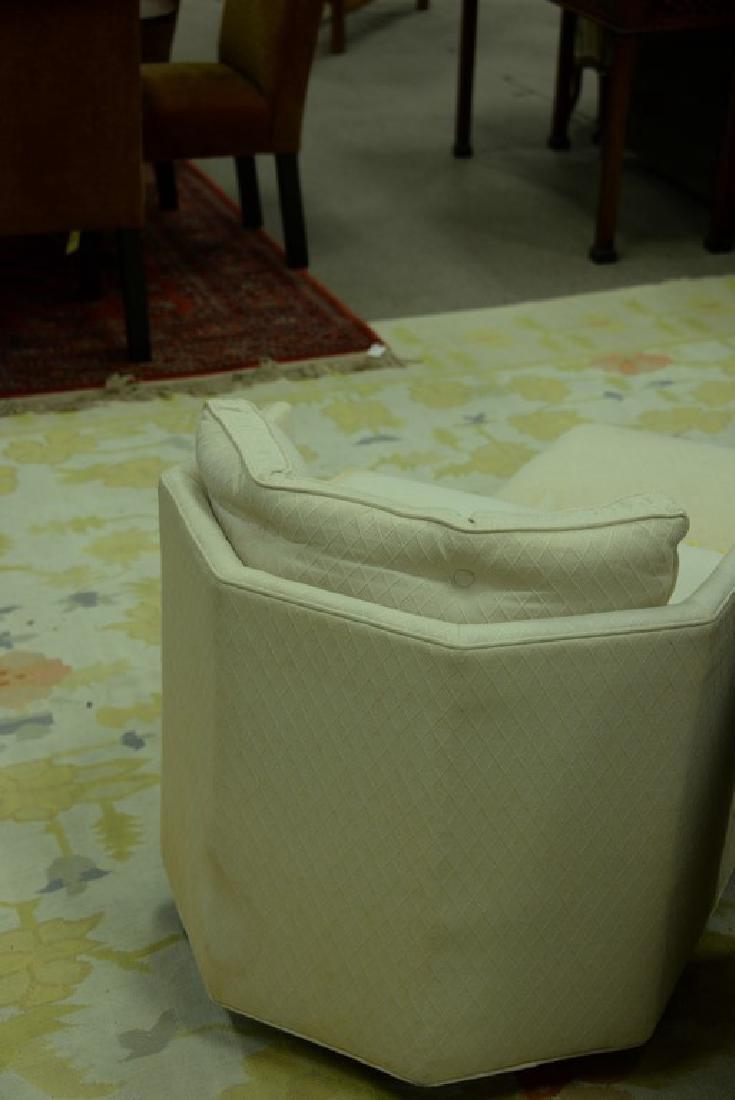 Pair of Harvey Probber style Mid-Century swivel chairs - 4