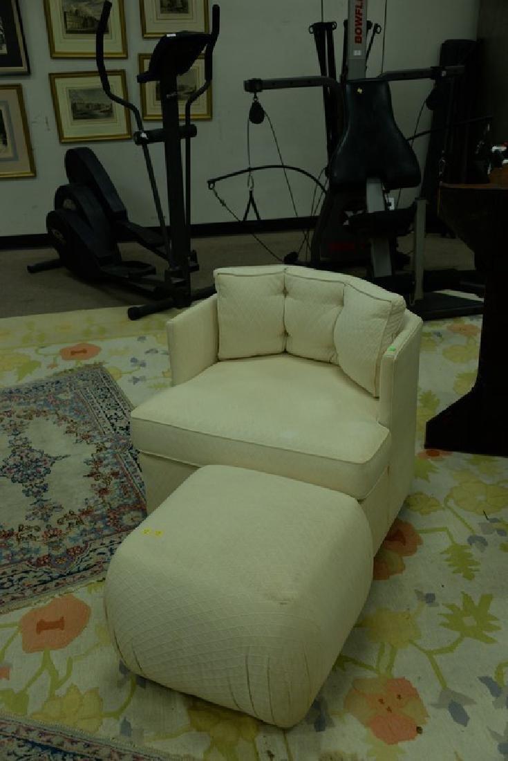Pair of Harvey Probber style Mid-Century swivel chairs - 5