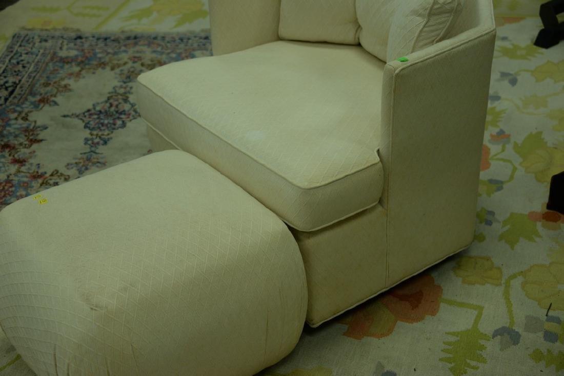 Pair of Harvey Probber style Mid-Century swivel chairs - 6