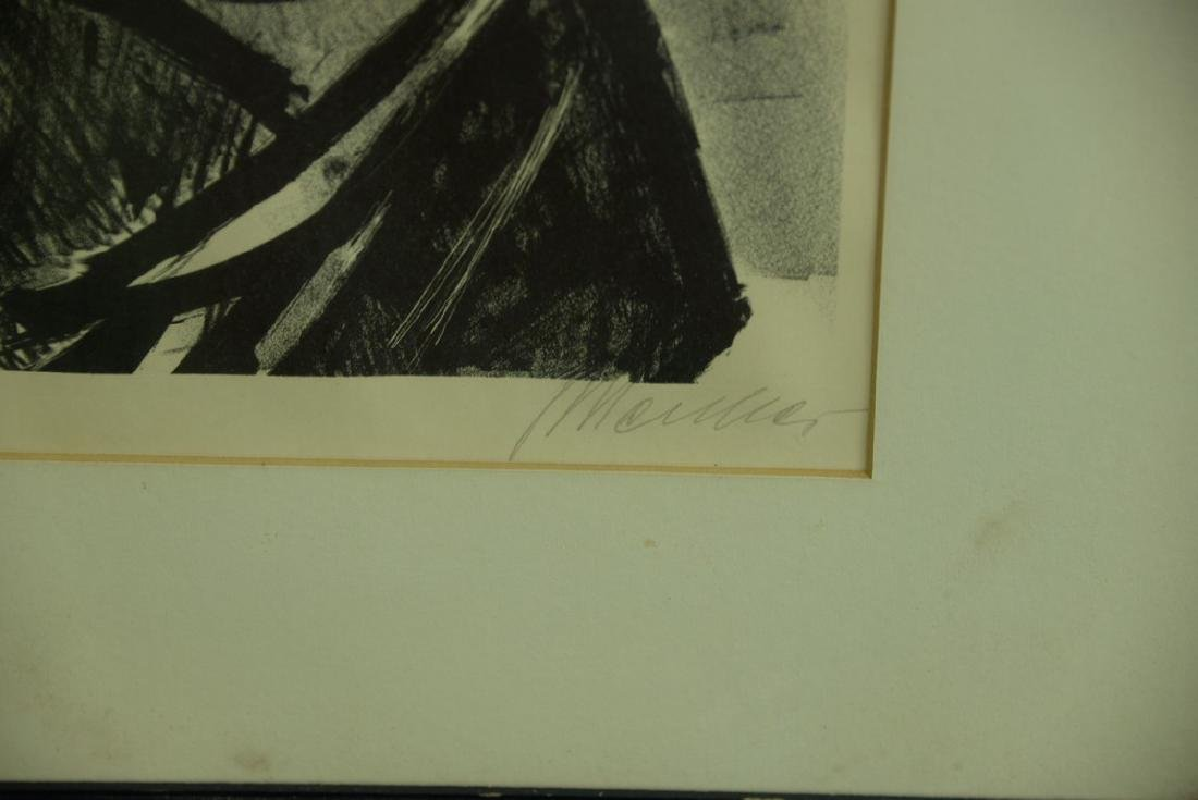Group of five framed lithographs and etchings to - 8