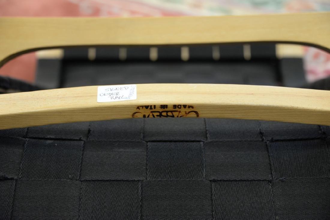 Luigi Crassevig Dondolo Bentwood rocking chair, stamped - 5