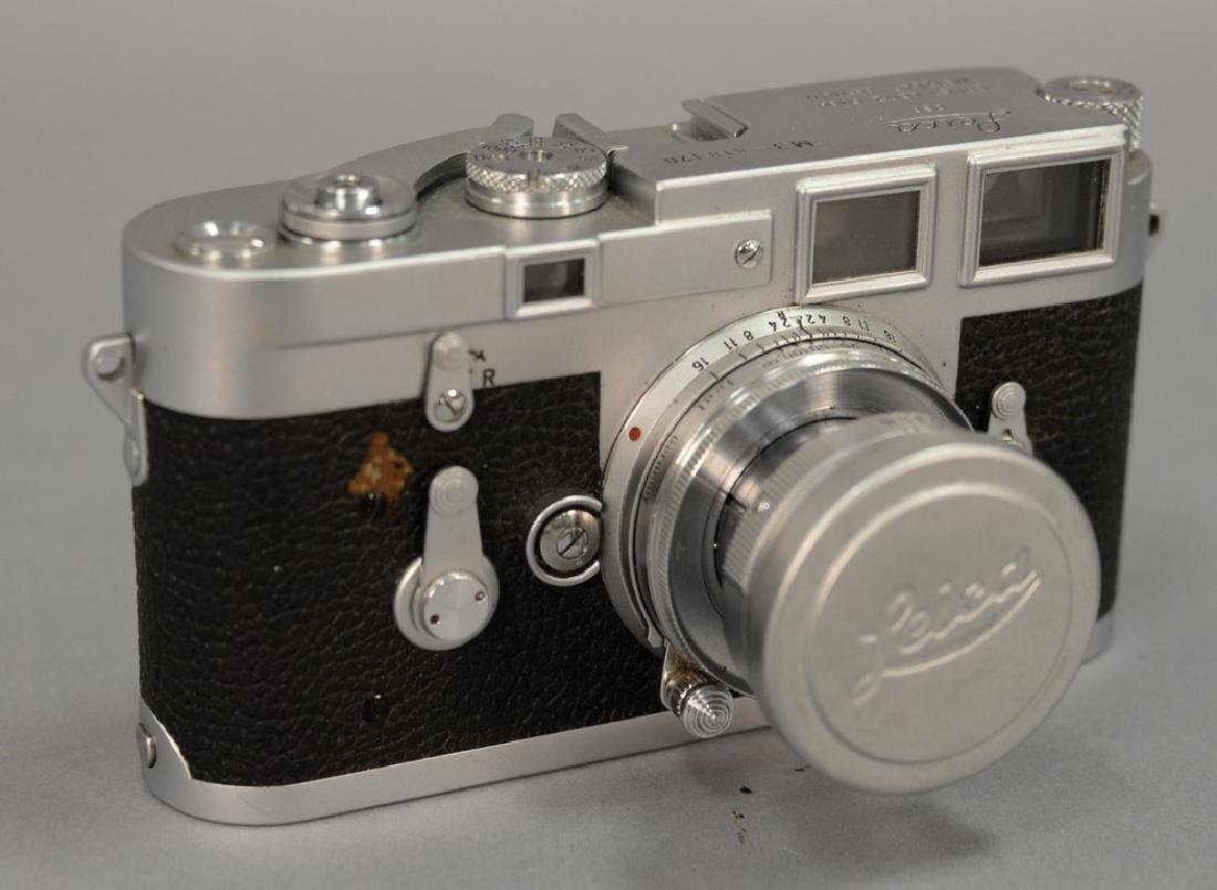 Leica M-3 double stroke (818170) with collapsible