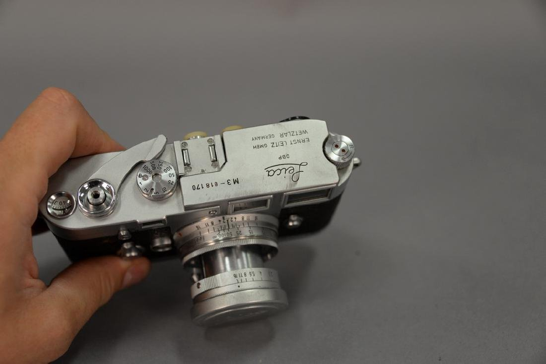 Leica M-3 double stroke (818170) with collapsible - 2