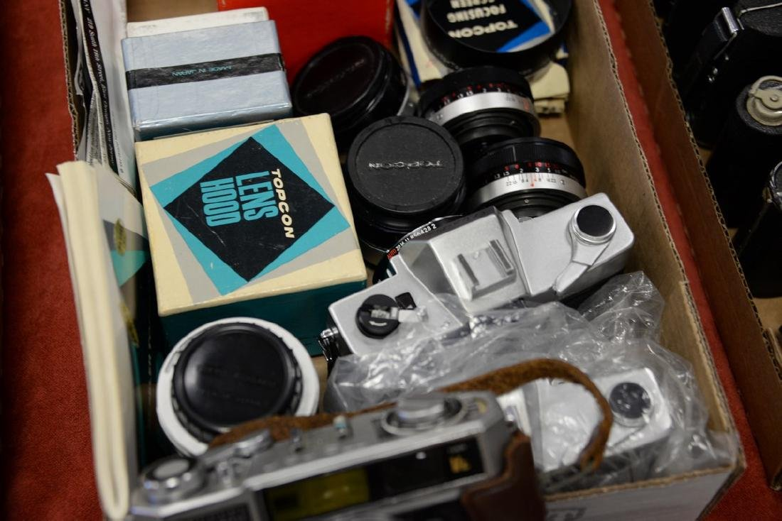 Two box lots: Camera lot to include (2) Bessler Auto - 3