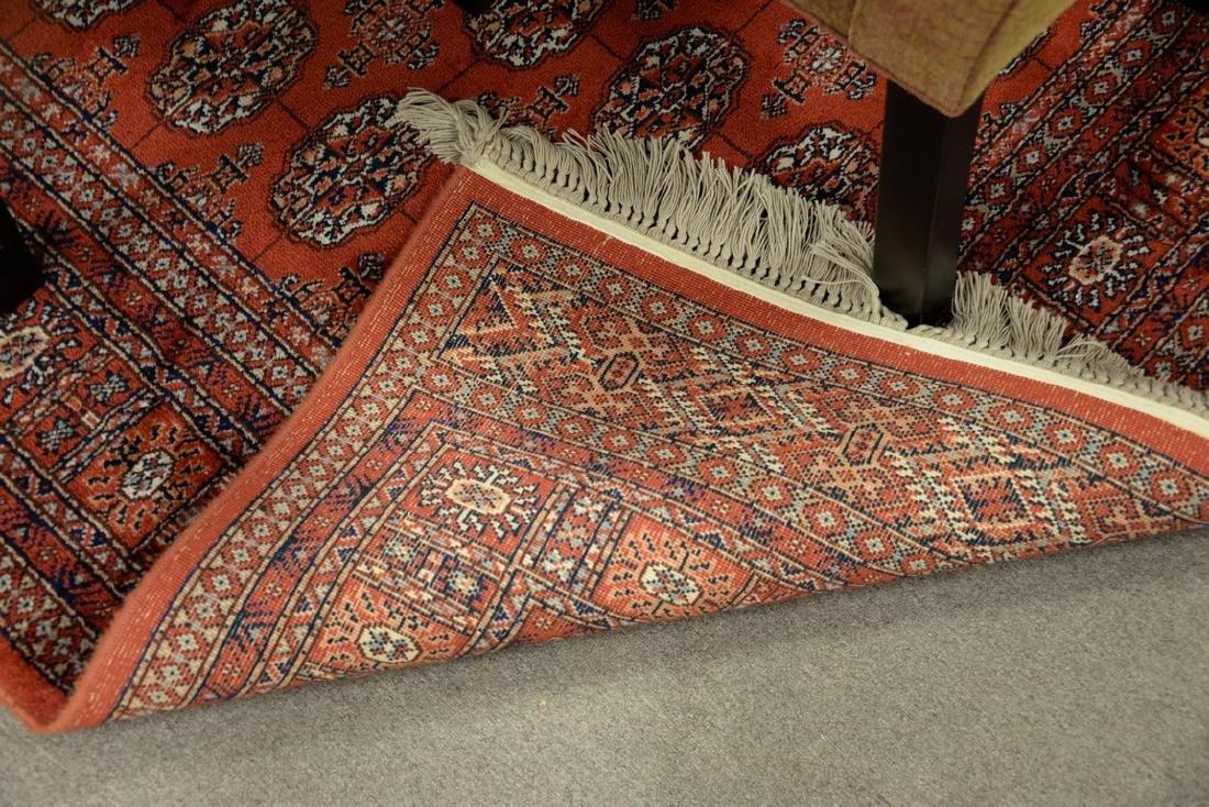 """Karastan Oriental Bokhara style carpet. 5'9"""" x 9'2"""" - 2"""