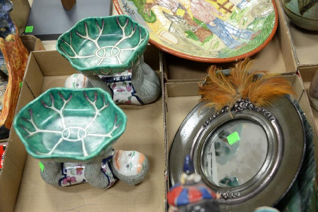 Five tray lots of ceramic and porcelain items to - 4