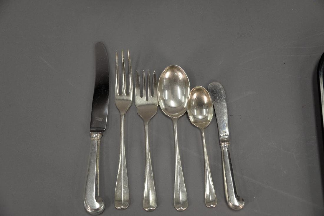 Sterling and silverplate lot to include Worcester - 5