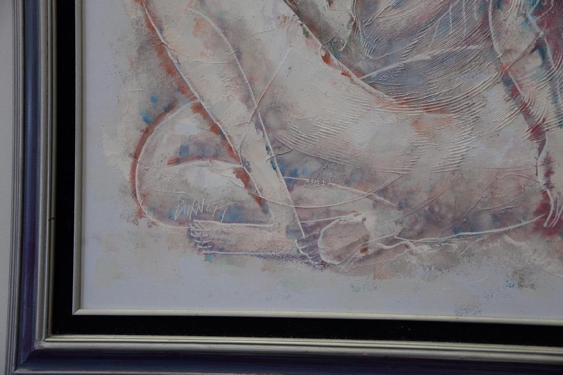 Calvin Waller Burnett (1921-2007), oil on canvas, Three - 2