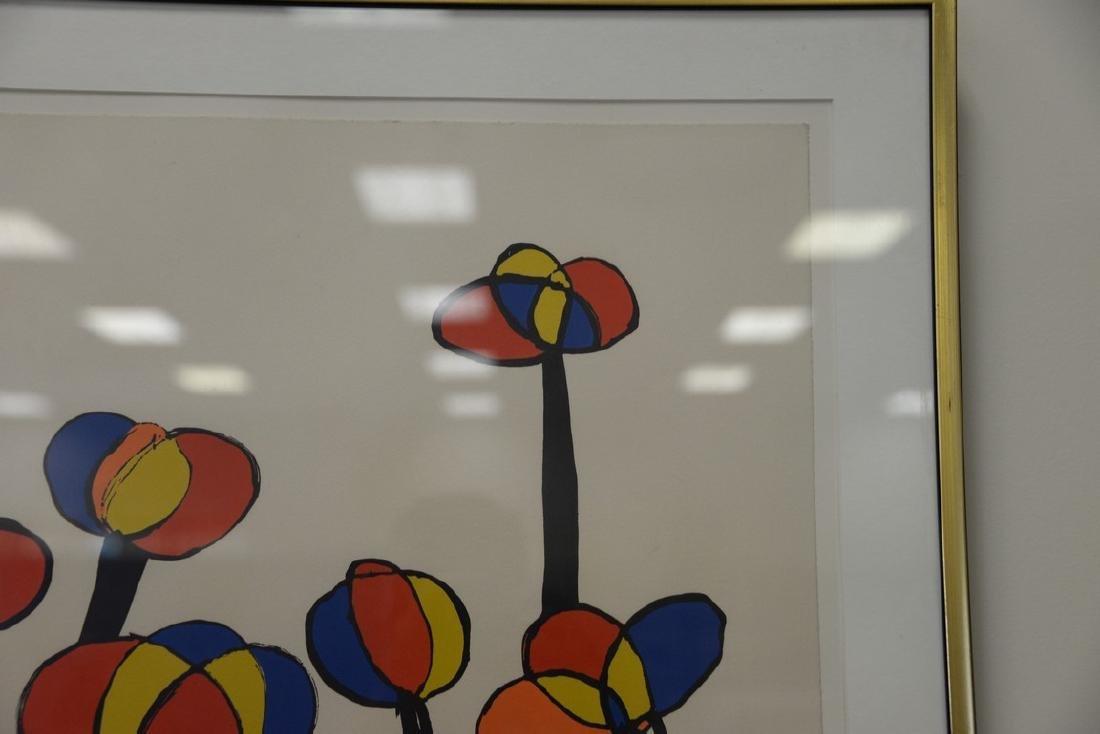 Alexander Calder (1898-1976), colored lithograph, - 2