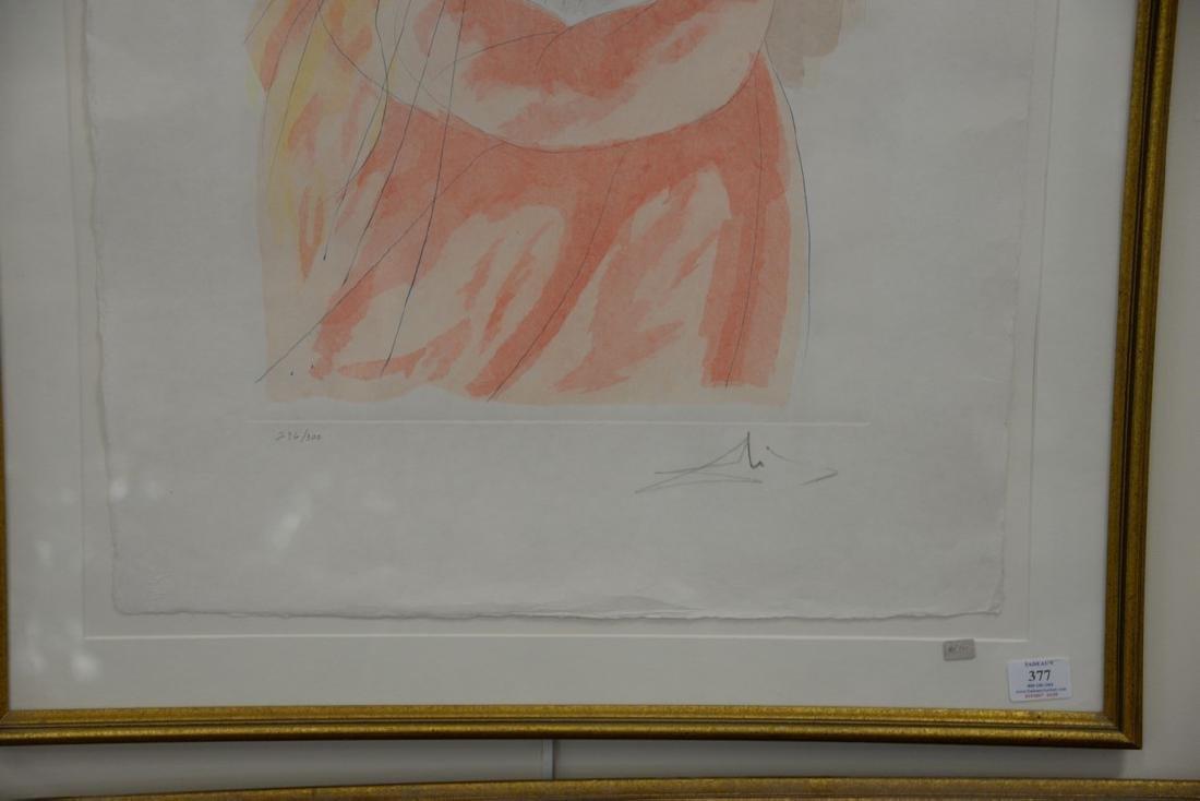 Salvador Dali (1904-1989), lithograph, King David from - 3