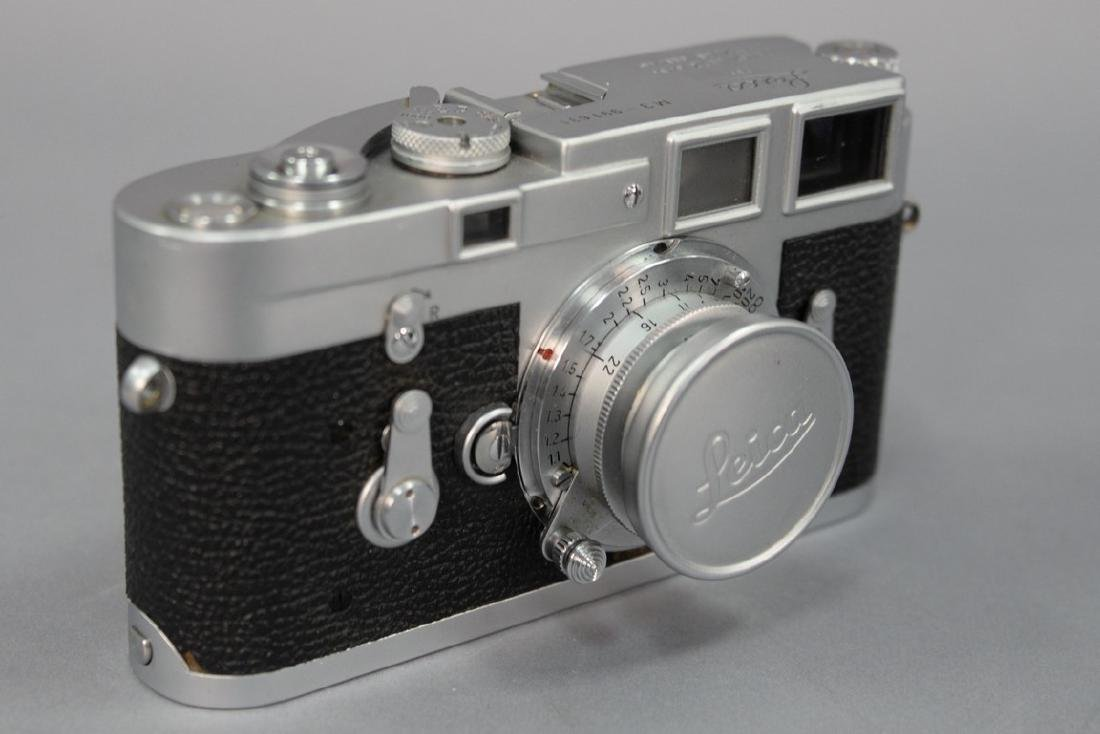 Leica M-3 single stroke 991631 with Summaron 35/3.5
