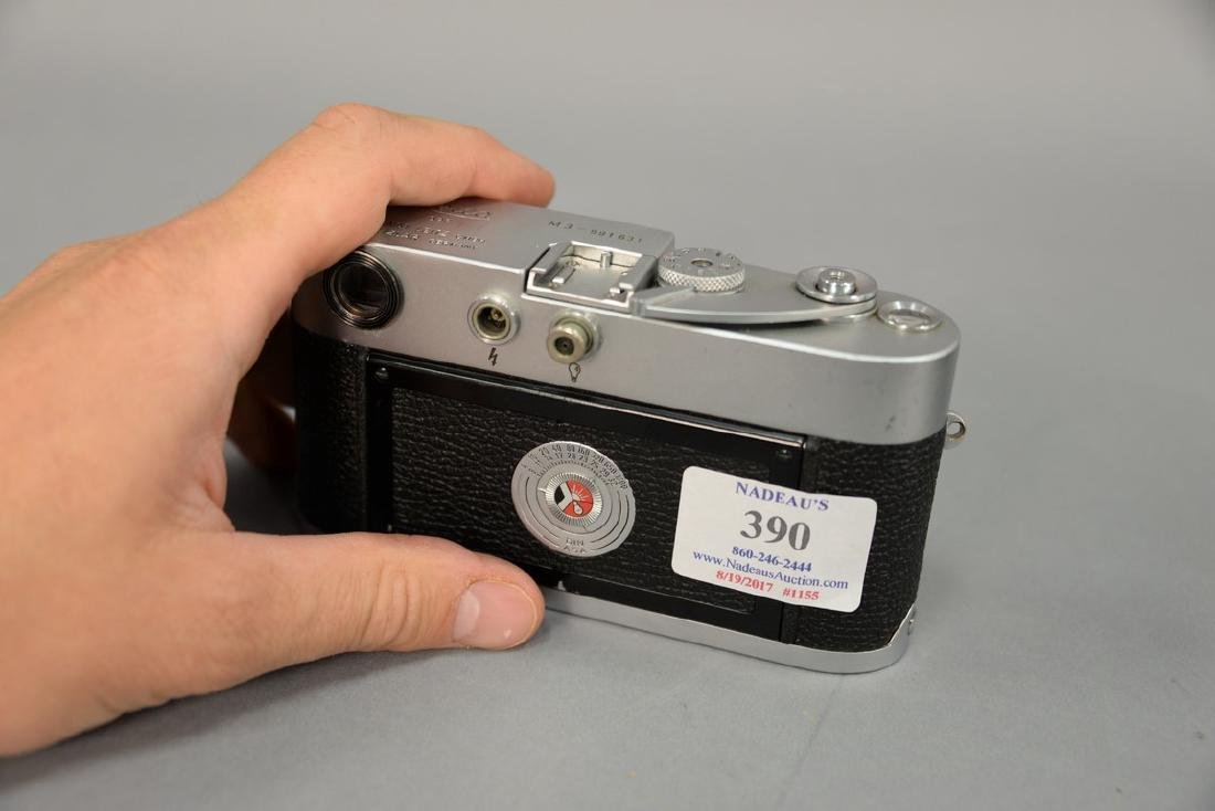 Leica M-3 single stroke 991631 with Summaron 35/3.5 - 3