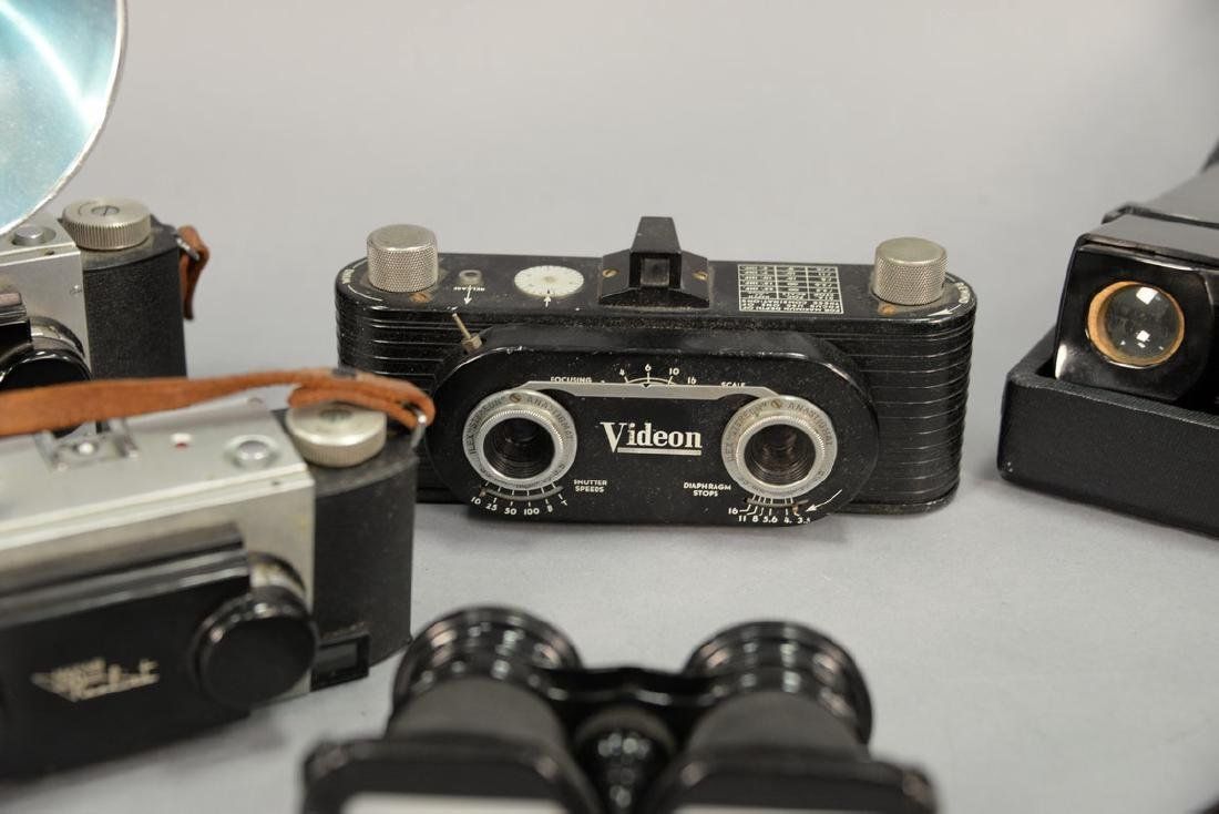 One box lot: Group lot of Stereo cameras and viewers - 2