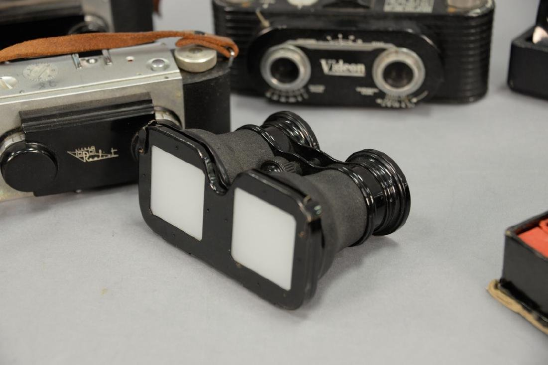 One box lot: Group lot of Stereo cameras and viewers - 4