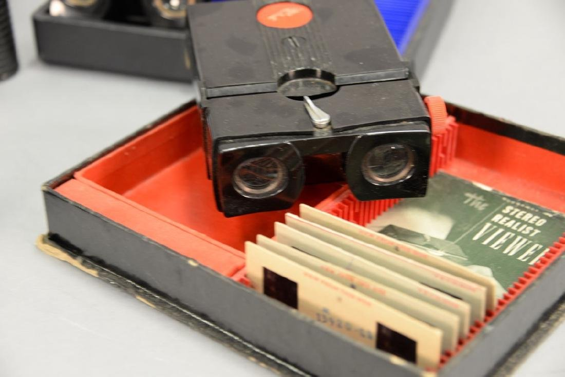 One box lot: Group lot of Stereo cameras and viewers - 5