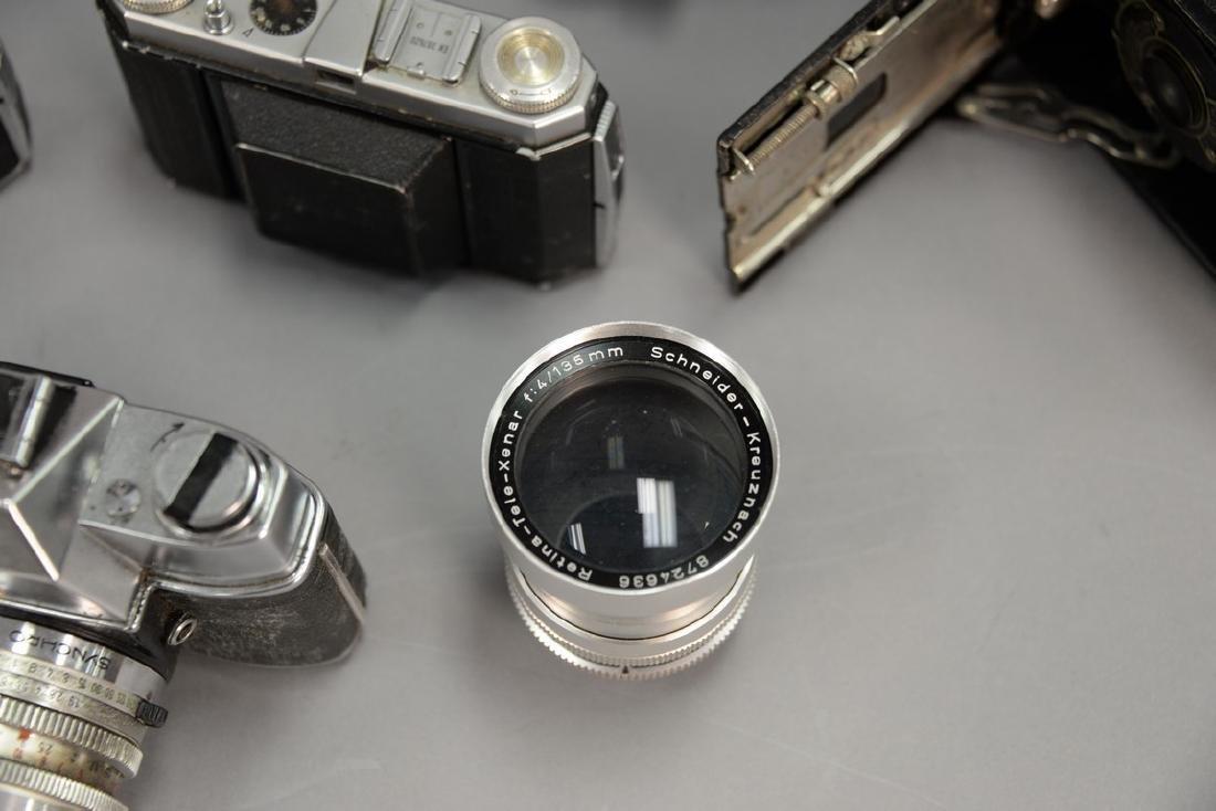 One box lot: Kodak camera lot including Kodak Rainbow - 10