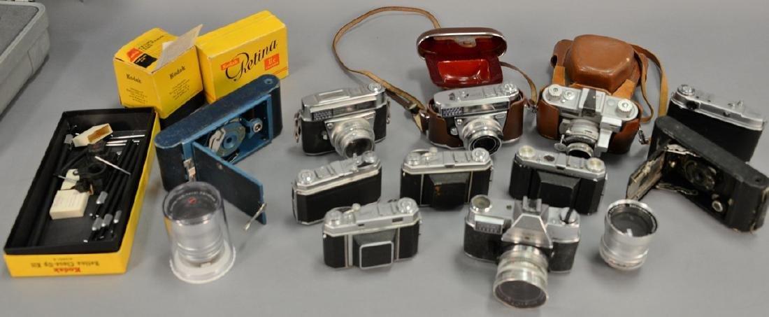 One box lot: Kodak camera lot including Kodak Rainbow