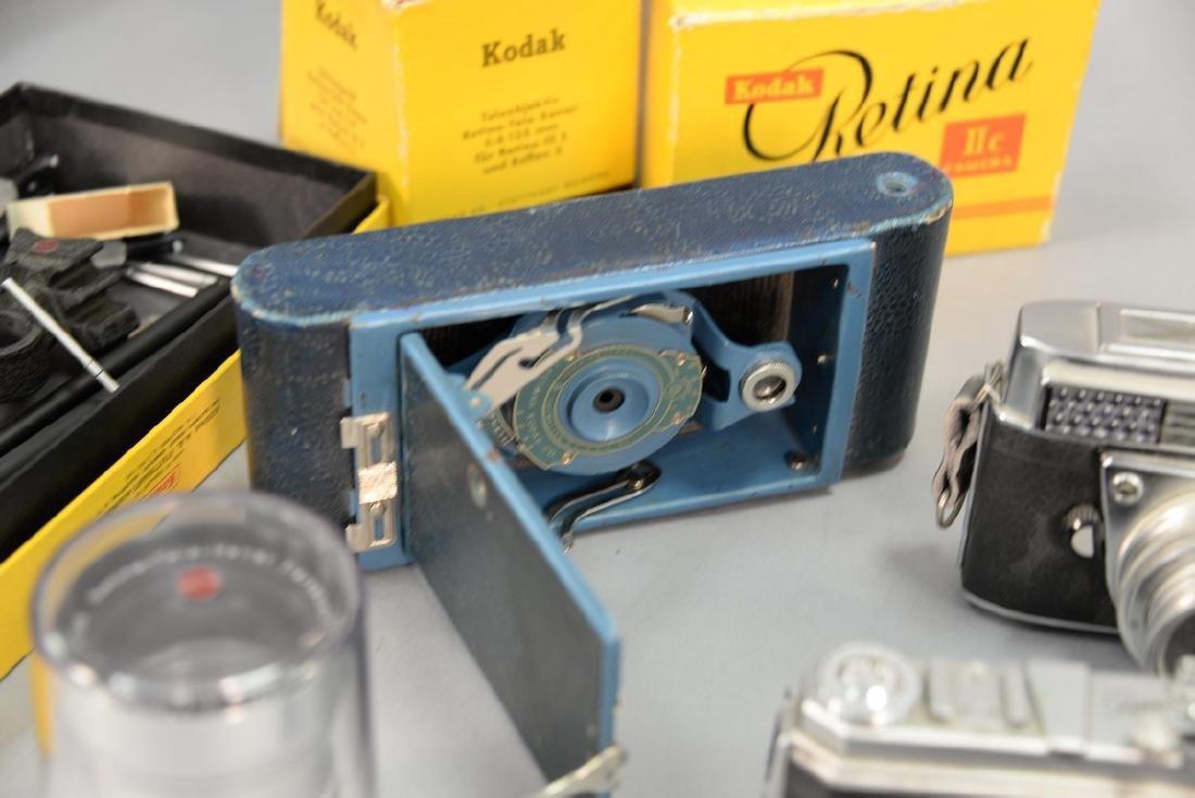 One box lot: Kodak camera lot including Kodak Rainbow - 3