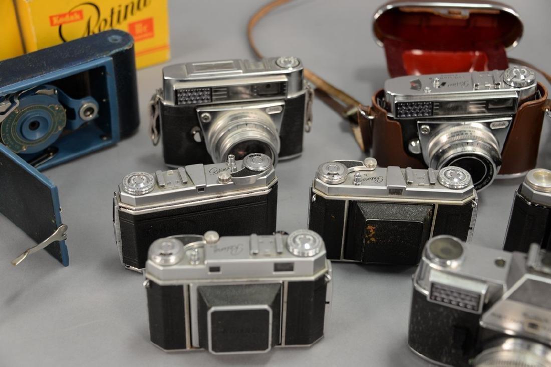 One box lot: Kodak camera lot including Kodak Rainbow - 5