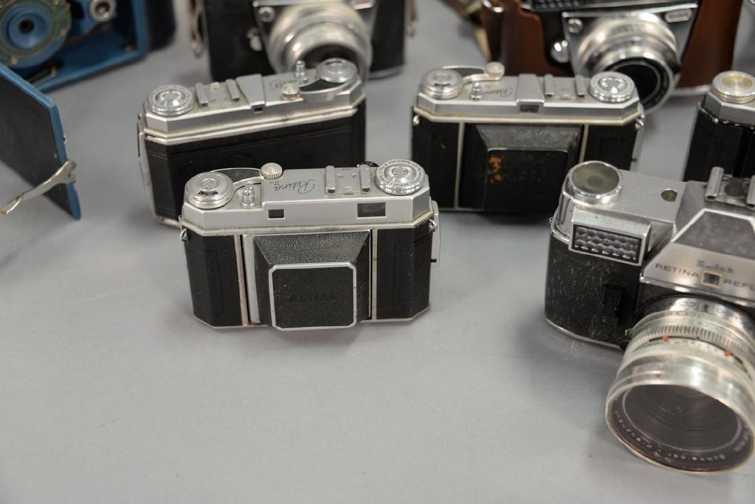 One box lot: Kodak camera lot including Kodak Rainbow - 6