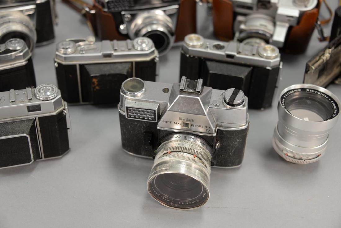 One box lot: Kodak camera lot including Kodak Rainbow - 7