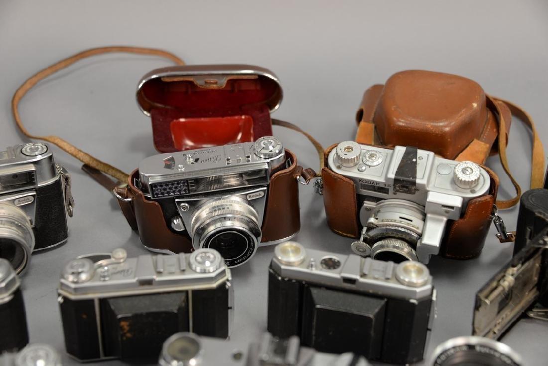 One box lot: Kodak camera lot including Kodak Rainbow - 8