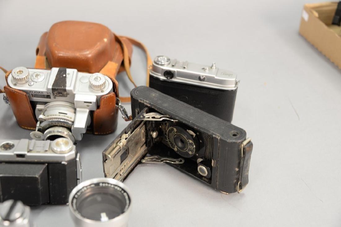 One box lot: Kodak camera lot including Kodak Rainbow - 9