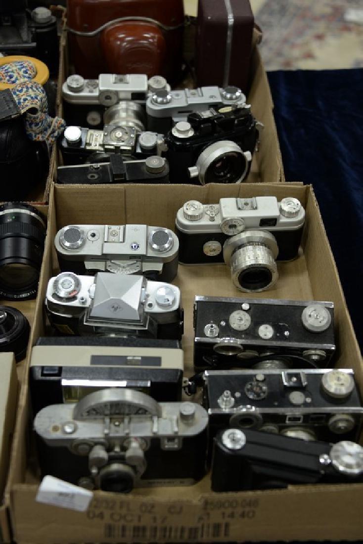 Six box lots: Camera and darkroom equipment lot to - 2