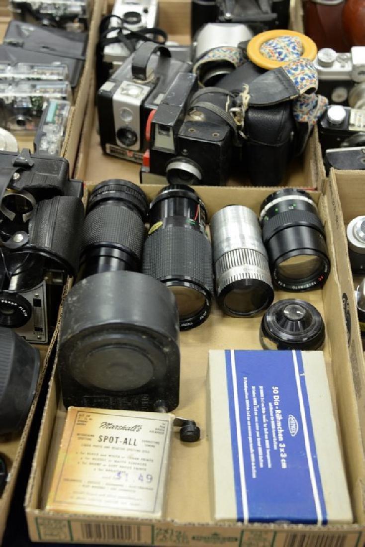 Six box lots: Camera and darkroom equipment lot to - 3
