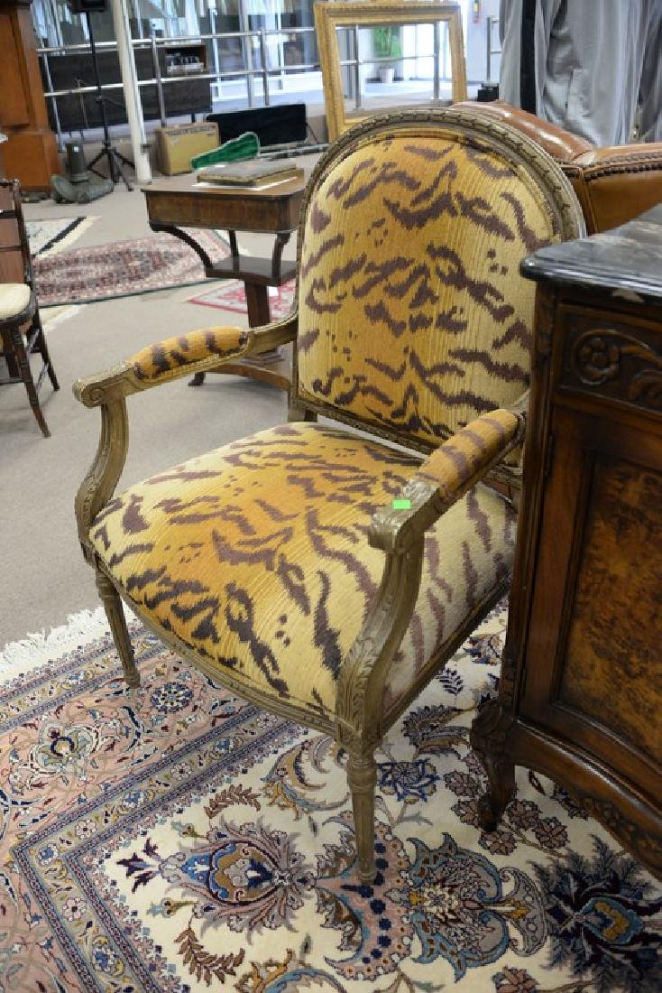 "Set of four Henredon Louis XVI style armchairs ""Desert - 5"