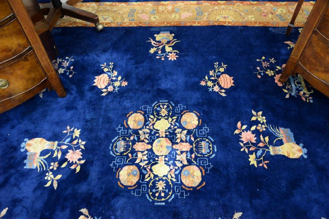 "Chinese Oriental carpet, 8'10"" x 11'4"". - 2"