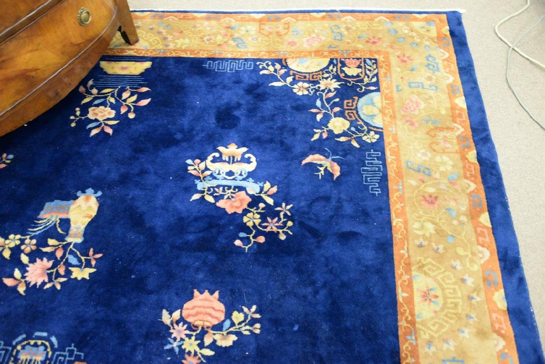 "Chinese Oriental carpet, 8'10"" x 11'4"". - 3"