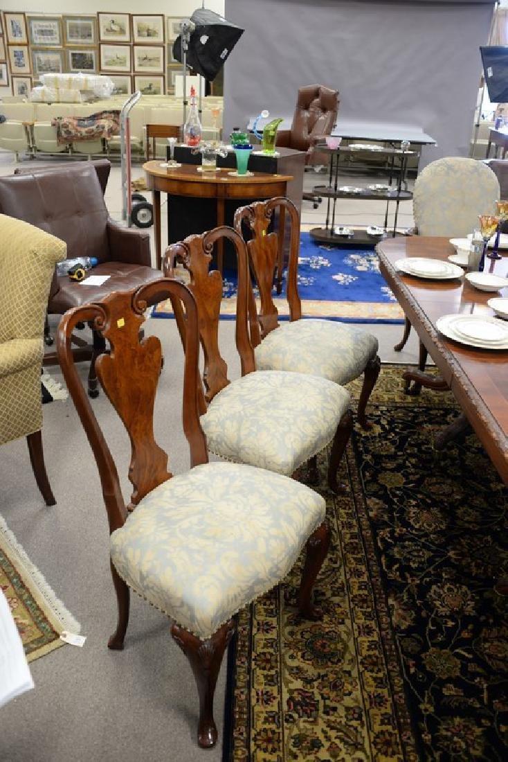 Set of ten John Widdicomb Georgian style dining chairs - 2