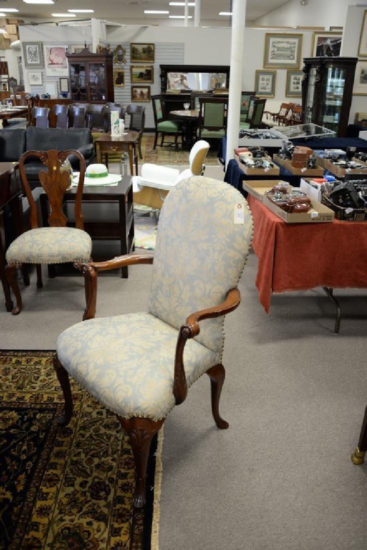 Set of ten John Widdicomb Georgian style dining chairs - 5