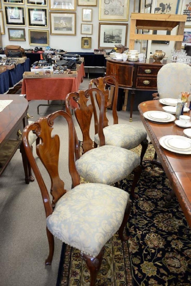 Set of ten John Widdicomb Georgian style dining chairs - 6