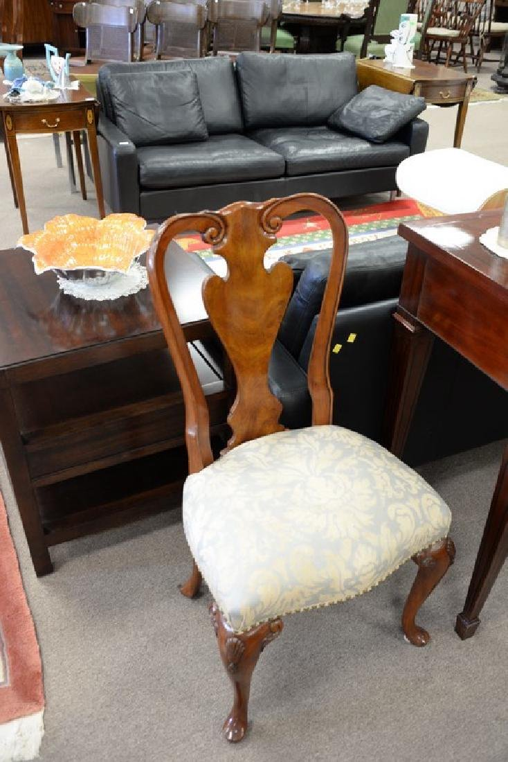 Set of ten John Widdicomb Georgian style dining chairs - 7