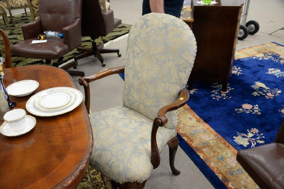Set of ten John Widdicomb Georgian style dining chairs - 8
