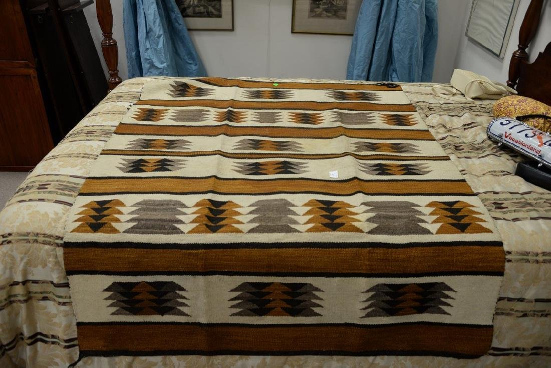 """Group of four American Indian blankets. 17 1/2"""" x 36"""" - 3"""
