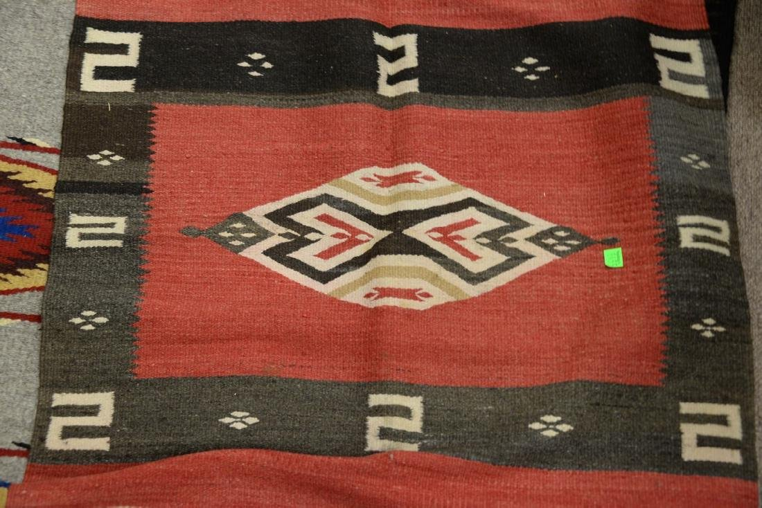 """Group of four American Indian blankets. 17 1/2"""" x 36"""" - 6"""
