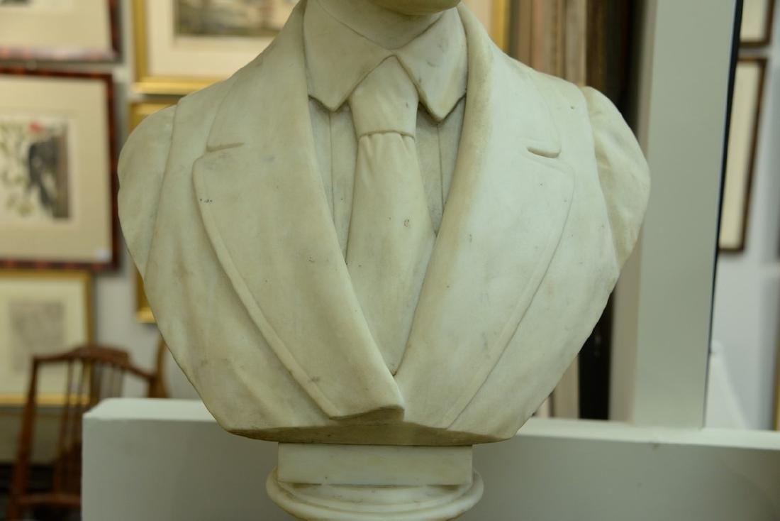 Rudolf Schwanthaler (1842-1879)  carved white marble - 6