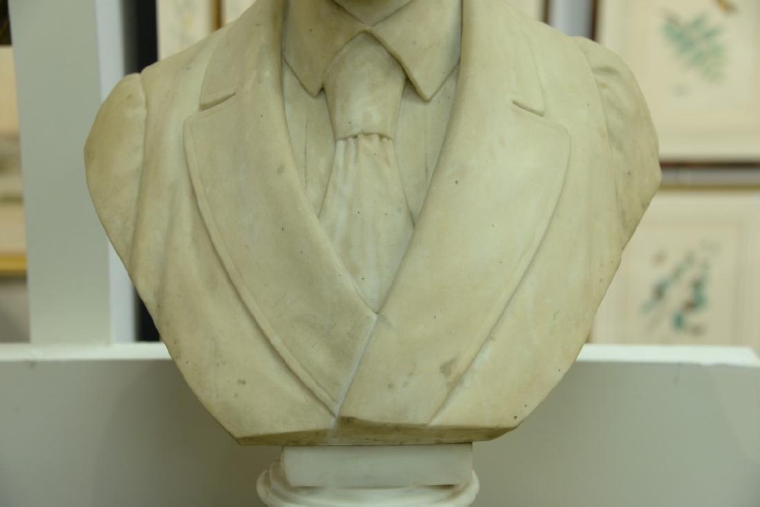 Rudolf Schwanthaler (1842-1879)  carved white marble - 4