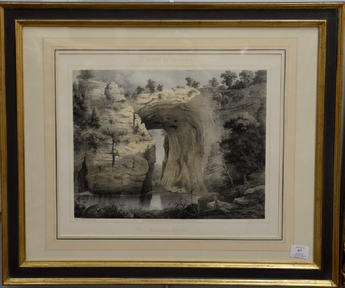 Edward Beyer (1820-1865)  colored lithograph from The